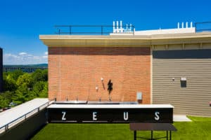 Zeus Brewing rooftop bar in Poughkeepsie, NY